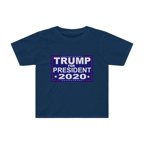 Trump For President 2020 Kids Tee - PoliticHell