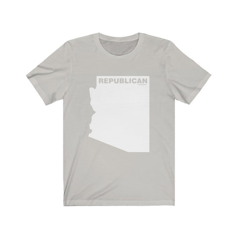 "Arizona Republican ""The State Collection"" Short Sleeve Shirt - PoliticHell"