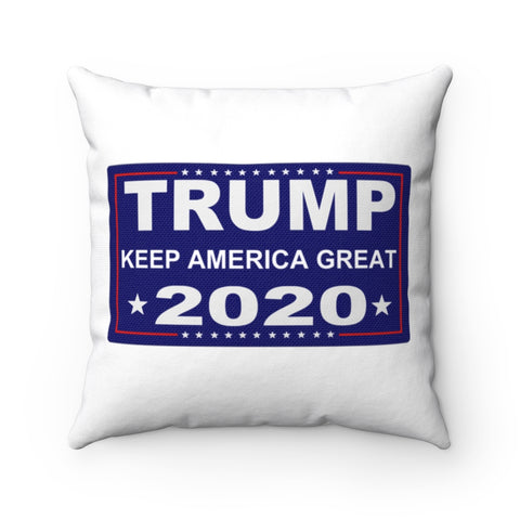 Trump Keep America Great 2020 Pillow - PoliticHell