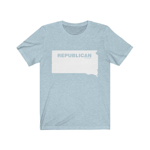 "South Dakota Republican ""The State Collection"" Short Sleeve Shirt - PoliticHell"