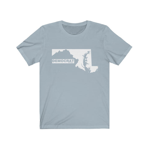 "Maryland Democrat ""The State Collection"" Short Sleeve Shirt - PoliticHell"