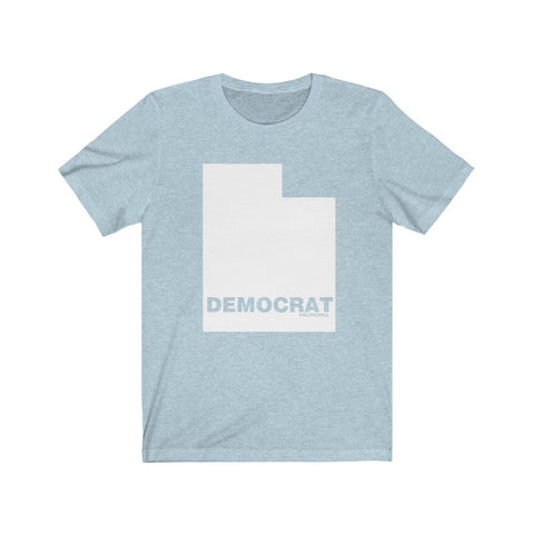 "Utah Democrat ""The State Collection"" Short Sleeve Shirt - PoliticHell"