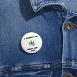 I Support The Green New Deal Pin Button - PoliticHell