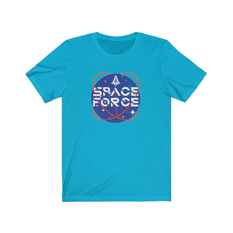 Space Force Short Sleeve Shirt - PoliticHell