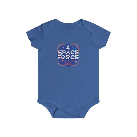 Space Force Bottom Snap Onesie - PoliticHell
