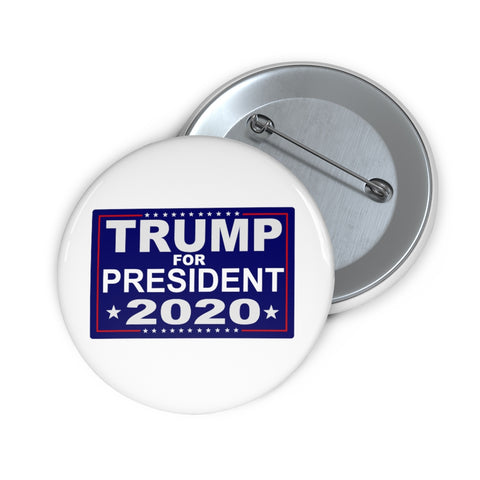 Trump For President 2020 Pin Button - PoliticHell