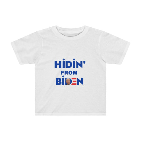 Hidin' From Biden Kids Tee - PoliticHell