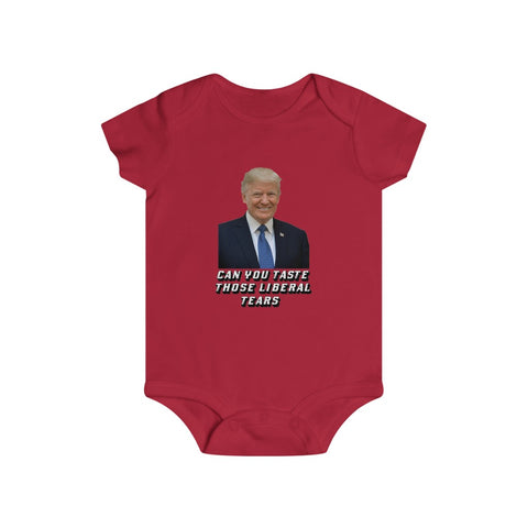 Can You Taste Those Liberal Tears Bottom Snap Onesie - PoliticHell