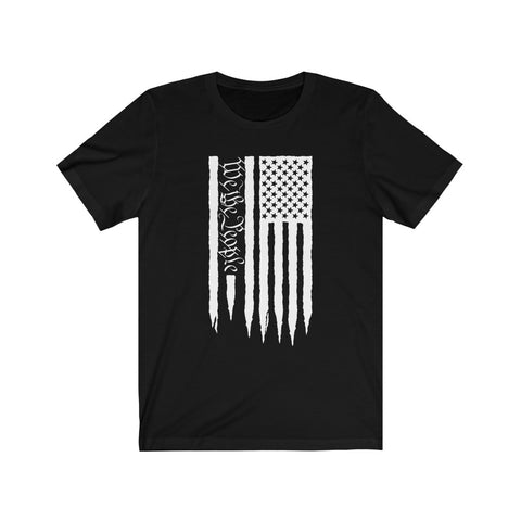 American Flag We The People Short Sleeve Shirt - PoliticHell