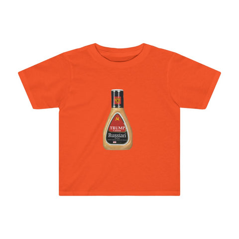 Trump Russian Dressing Kids Tee - PoliticHell
