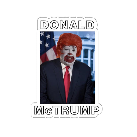 Donald McTrump Sticker - PoliticHell