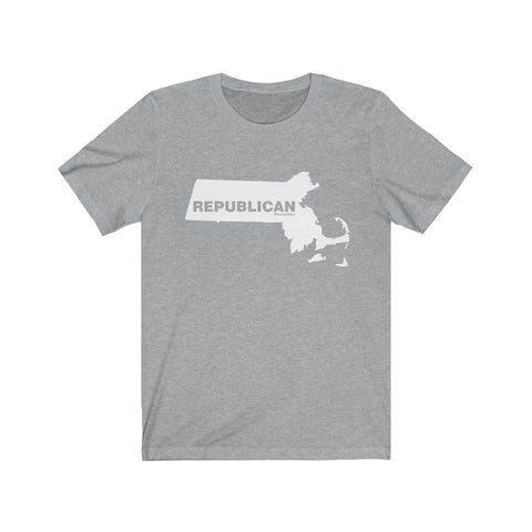 "Massachusetts Republican ""The State Collection"" Short Sleeve Shirt - PoliticHell"