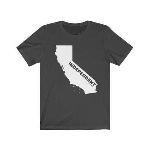 "California Independent ""The State Collection"" Short Sleeve Shirt - PoliticHell"