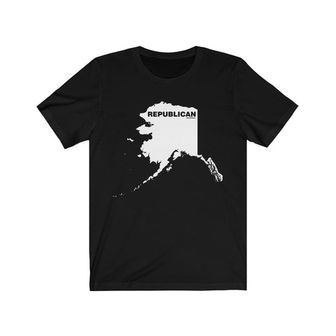 "Alaska Republican ""The State Collection"" Short Sleeve Shirt - PoliticHell"