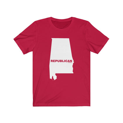 "Alabama Democrat ""The State Collection"" Short Sleeve Shirt - PoliticHell"
