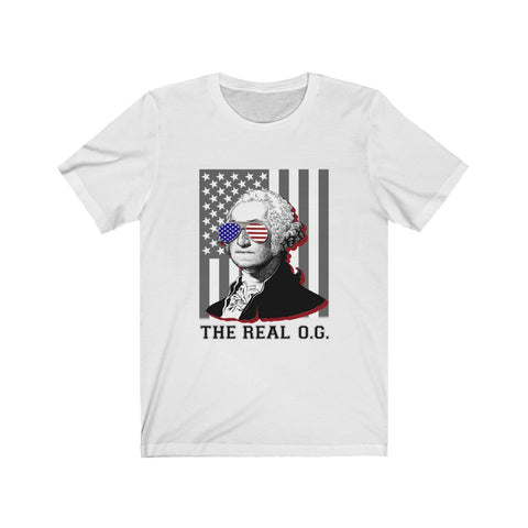 George Washington The Real O.G. Short Sleeve Shirt - PoliticHell