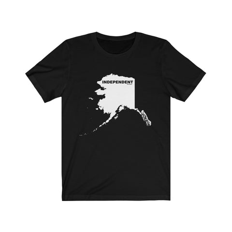 "Alaska Independent ""The State Collection"" Short Sleeve Shirt - PoliticHell"