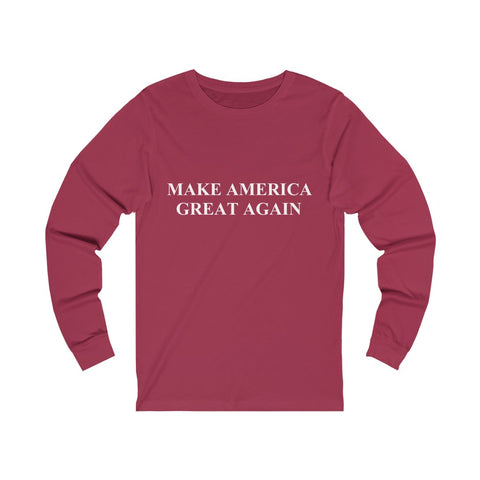 Make America Great Again Unisex Jersey Long Sleeve Tee - PoliticHell