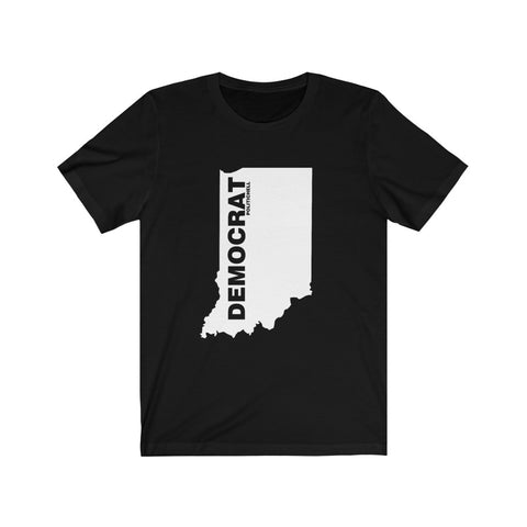 "Indiana Democrat ""The State Collection"" Short Sleeve Shirt - PoliticHell"
