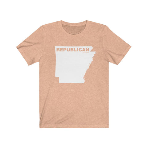 "Arkansas Republican ""The State Collection"" Short Sleeve Shirt - PoliticHell"