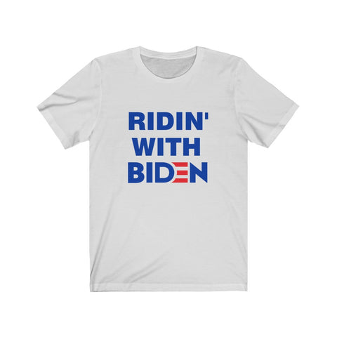Ridin With Biden Short Sleeve Shirt - PoliticHell