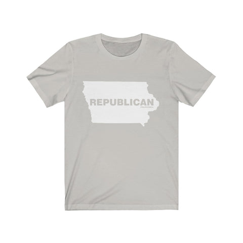 "Iowa Republican ""The State Collection"" Short Sleeve Shirt - PoliticHell"