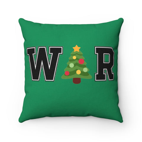 War On Christmas Pillow - PoliticHell