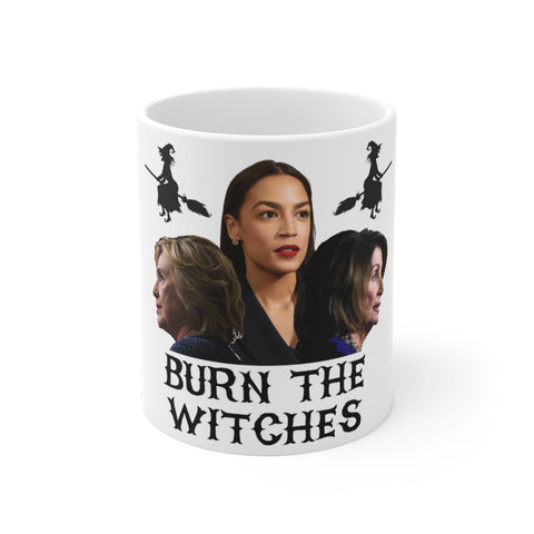 Burn The Witches Mug 11 oz - PoliticHell