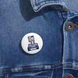 Faux News Pin Button - PoliticHell