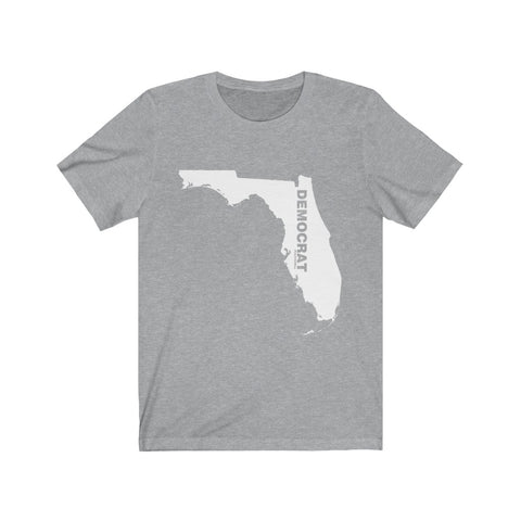 "Florida Democrat ""The State Collection"" Short Sleeve Shirt - PoliticHell"