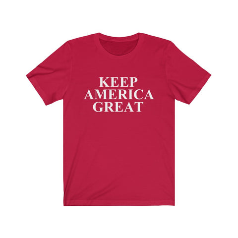 Keep America Great Short Sleeve Shirt - PoliticHell