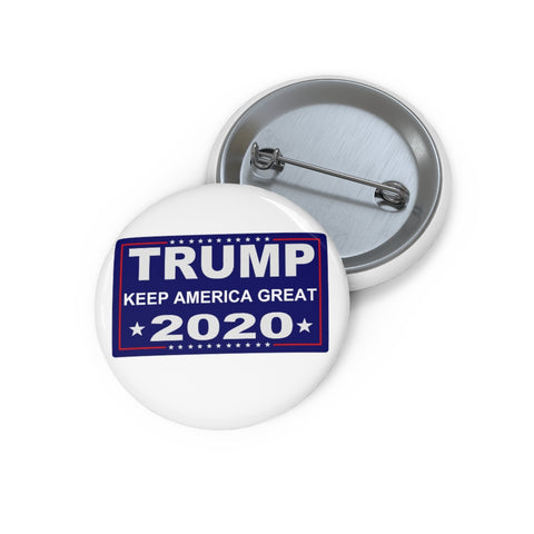 Trump Keep America Great 2020 Pin Button - PoliticHell