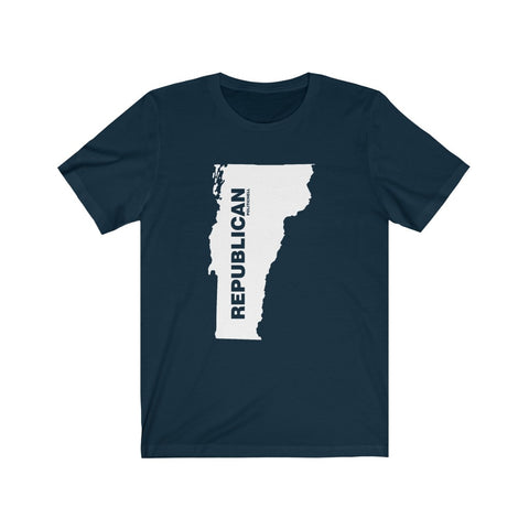 "Vermont Republican ""The State Collection"" Short Sleeve Shirt - PoliticHell"