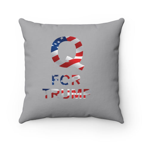Q For Trump Pillow - PoliticHell