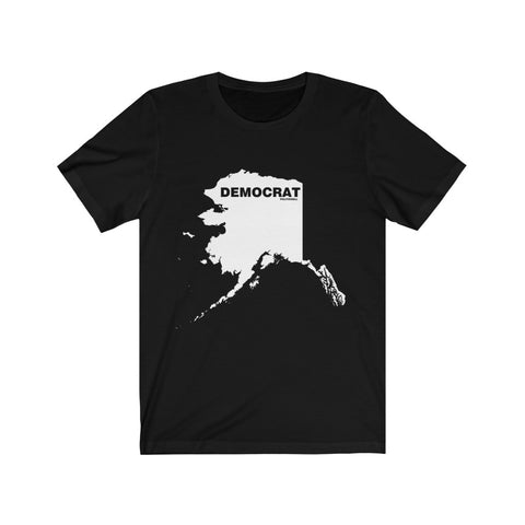 "Alaska Democrat ""The State Collection"" Short Sleeve Shirt - PoliticHell"