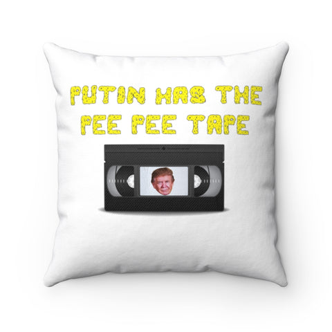 Putin Has The Pee Pee Tape Pillow - PoliticHell