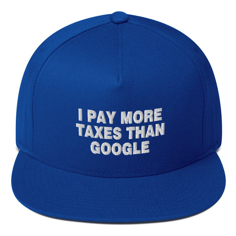I Pay More Taxes Than Google Flat Bill Cap - PoliticHell