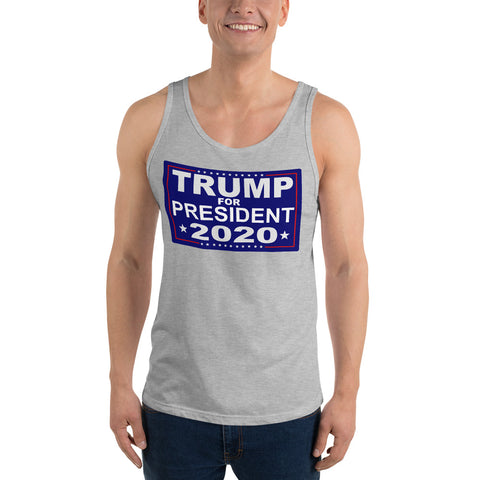 Trump For President 2020 Unisex Tank Top - PoliticHell