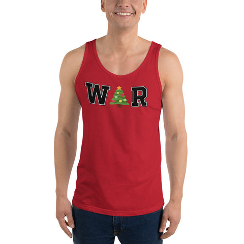 War On Christmas Unisex Tank Top - PoliticHell