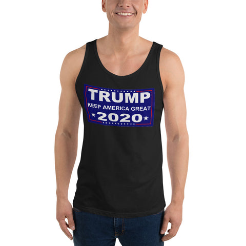 Trump Keep America Great 2020 Unisex Tank Top - PoliticHell