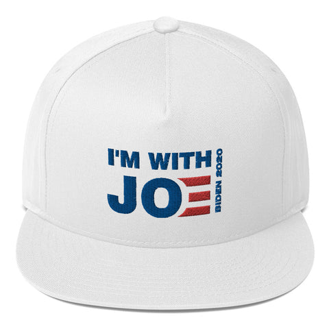 I'm With Joe Flat Bill Cap - PoliticHell