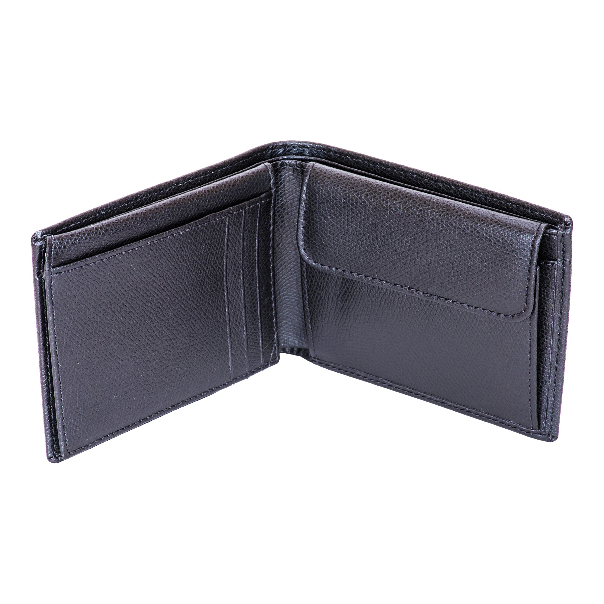 Canyon Ranch Black Dune Leather Wallet