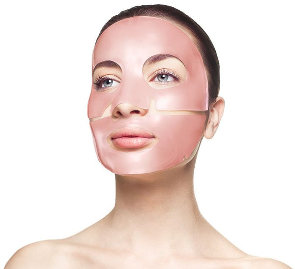 Rose Quartz Antioxidant Collagen Face Mask - 4 Treatments