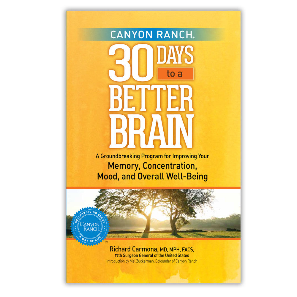 30 Days to a Better Brain Book by Richard Carmona Cover
