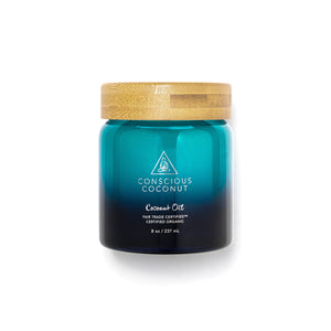 Conscious Coconut Oil 8oz Jar