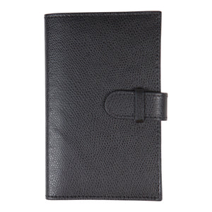 Canyon Ranch Black Leather Notebook