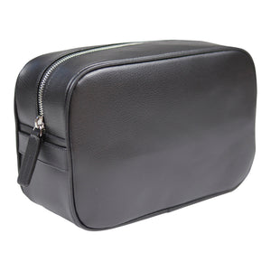 Canyon Ranch Leather Toiletry Bag - Black Dune