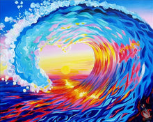 Load image into Gallery viewer, Love Surf at Sunset