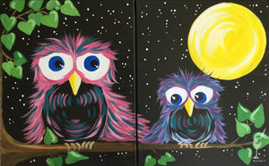 Mommy and Me Owls Set