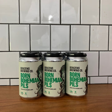Denizen's Born Bohemian Pils Single Can